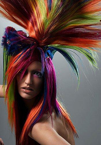Прикольні зачіски